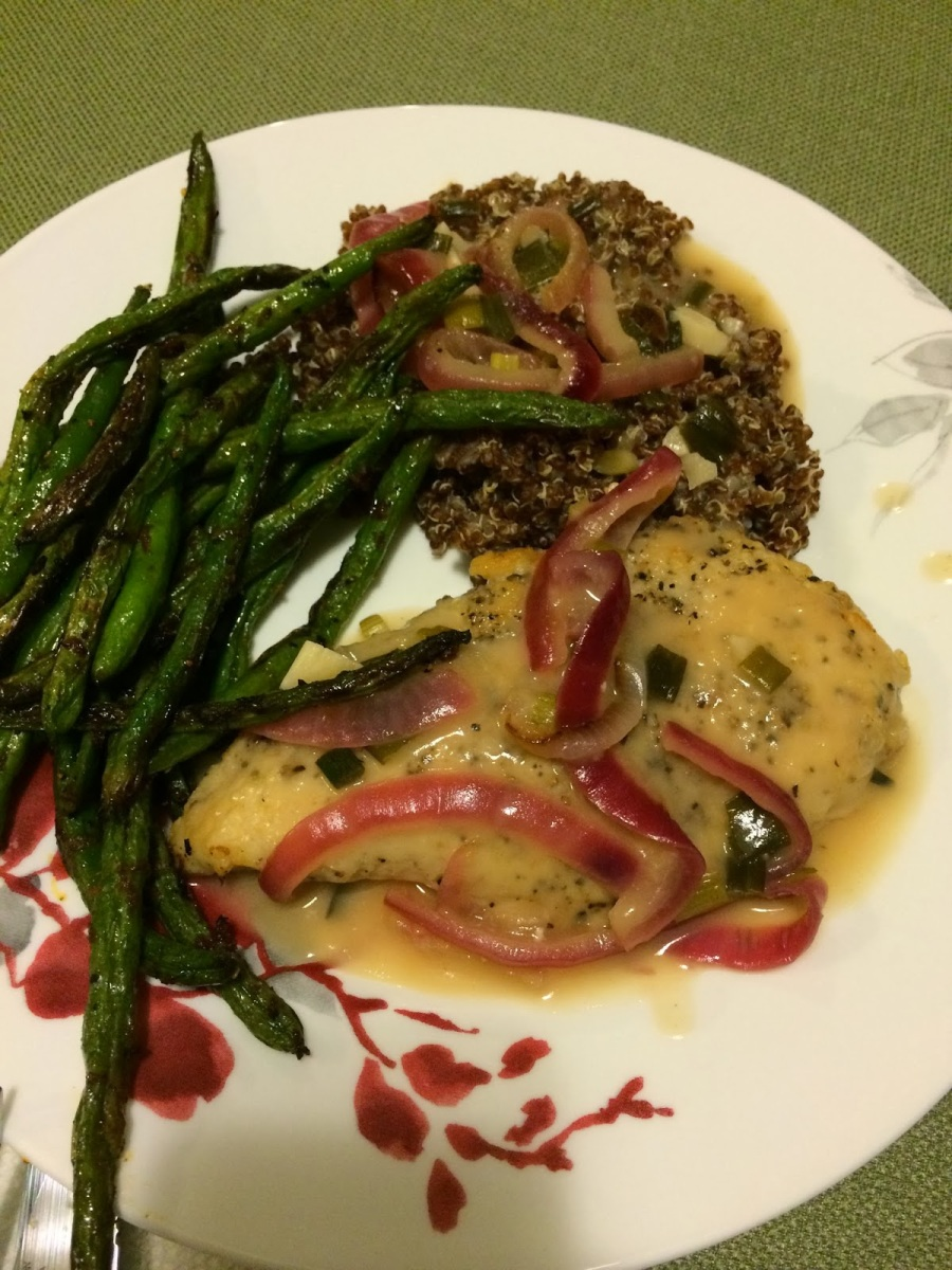 A Week of Alton Brown Day 2: Chicken Piccata