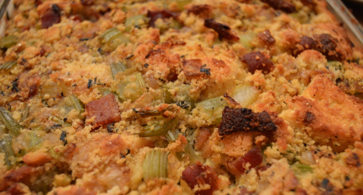 Thanksgiving Dry Run: Cornbread Stuffing